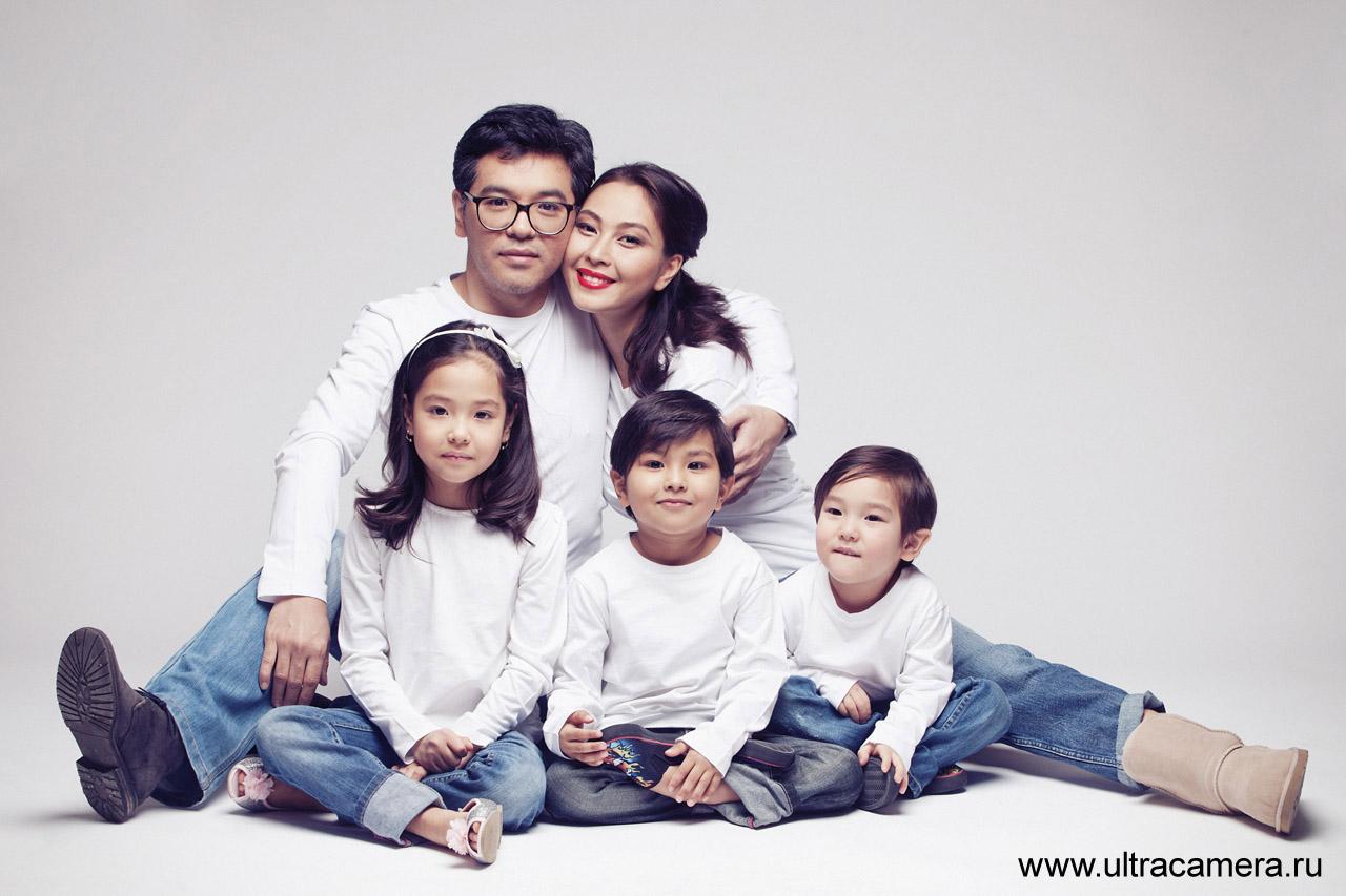 фотосессия в студии семейная фото